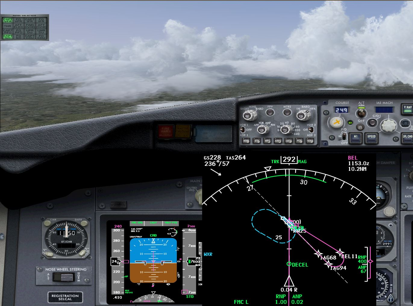 iFly 737NG to feature ASN Radar Integration - iFly Development Team