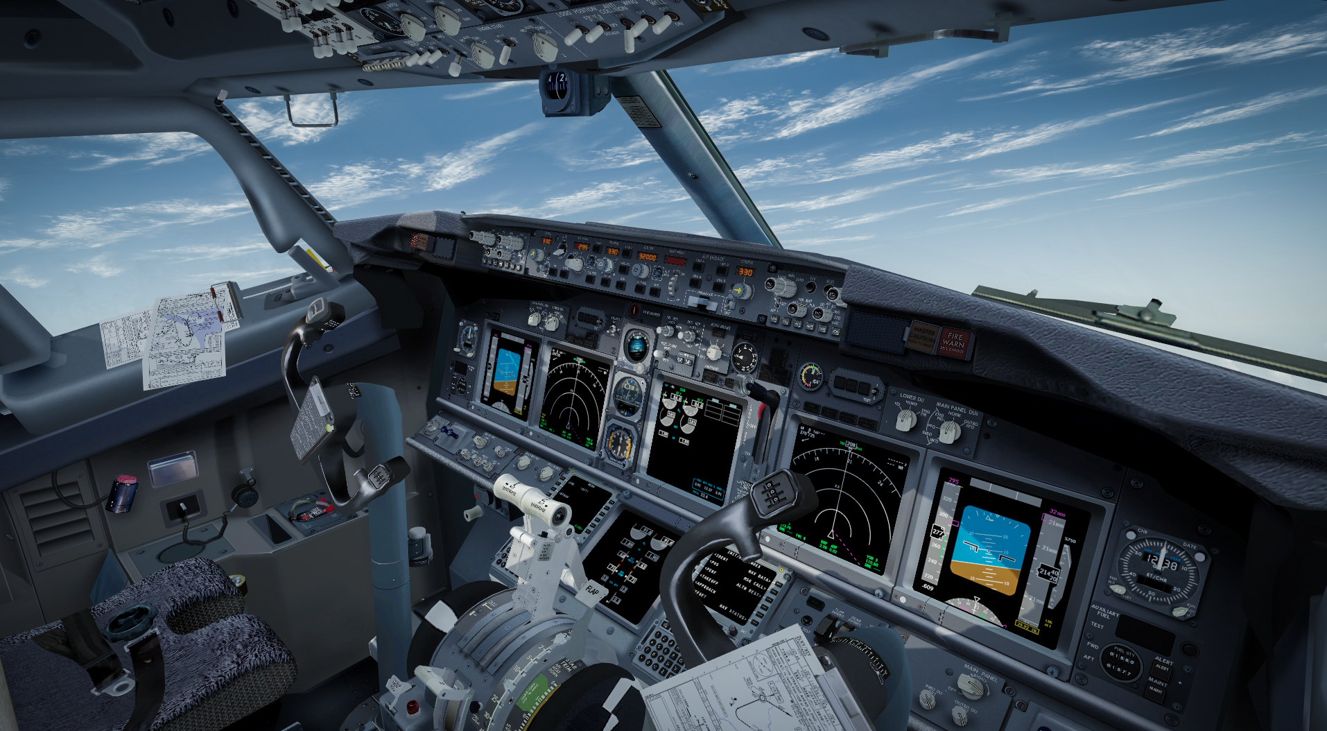737NG HD Texture Pak for 64-bit P3D v4 (Released) - iFly